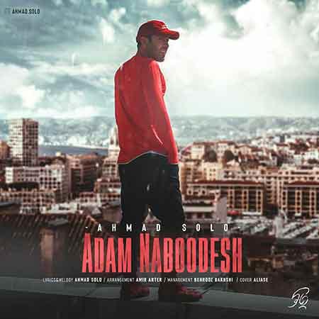 دانلود آهنگ جدید احمد سلو به نام آدم نبودش